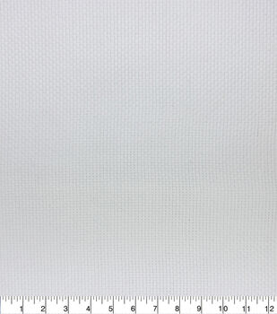 Monks Cloth Utility Fabric White