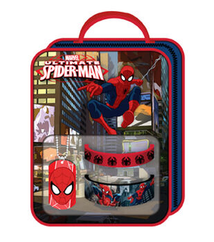 Spiderman Bag with Necklace Rubber Bracelet