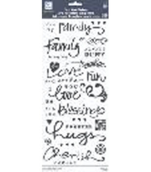 Clear Word Stickers, Family