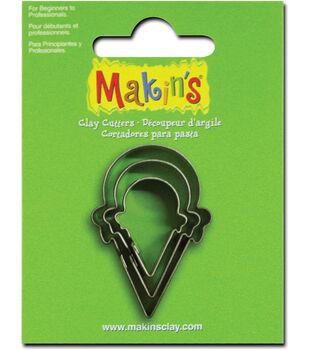 Makin's Clay Cutters 3/Pk-Ice Cream Cone