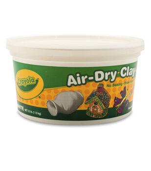 Crayola Air Dry Clay-White