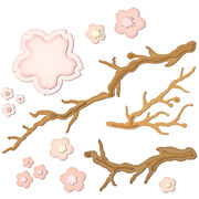 Spellbinders Shapeabilities Dies Cherry Blossoms, , hi-res