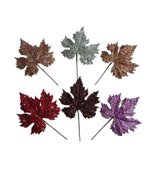 Blooming Autumn Maple Pick Assorted