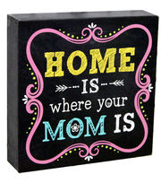 Escape To Paradise Wall Banner-Home Is Where Mom Is, , hi-res