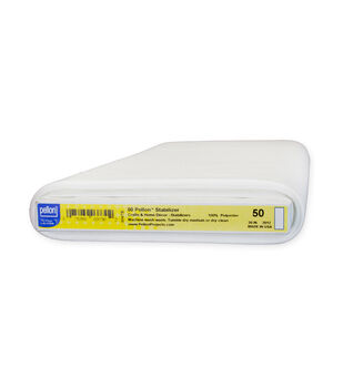 "50 Pellon® Stabilizer, White, 20"" x 30yd bolt"