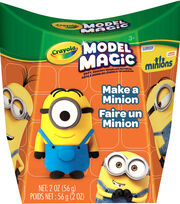 Crayola Model Magic .5oz 4/Pkg-Minions, , hi-res