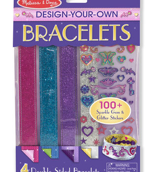 Melissa & Doug Design-Your-Own Bracelets Kit