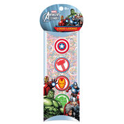 Forever Collectibles Logo Loomz Charm Pack Marvel Comics Avengers, , hi-res