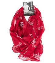 Indiana University NCAA Infinity Scarf, , hi-res