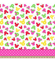 Disney® Minnie Mouse Fruitolicious Tiered Mock Smock Fabric, , hi-res