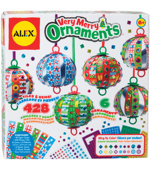 Alex Toys Very Merry Ornaments Kit