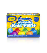 Crayola Kids Paint 6/Pkg, , hi-res