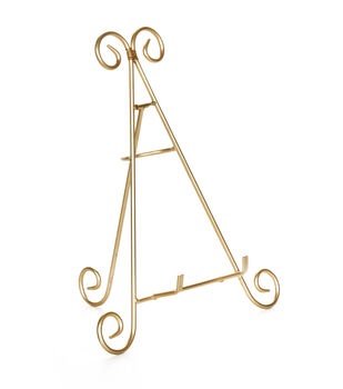 12 inch Gold Easel