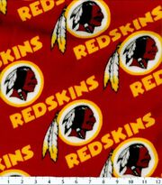 Washington Redskins NFL Fleece Fabric by Fabric Traditions, , hi-res