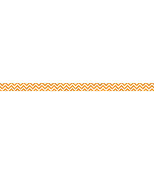 Orange Chevron Border