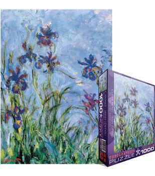 Euro Graphics Jigsaw Puzzle Monet Irises, C. 1918 25