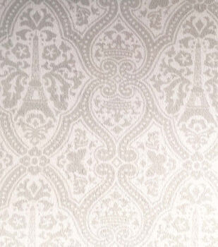 Magic Moon Nursery Fabric-Genevieve Damask