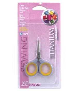 Acme 2-1/2'' Titanium Fine Cut Scissors