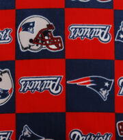New England Patriots NFL Fleece Fabric by Fabric Traditions, , hi-res