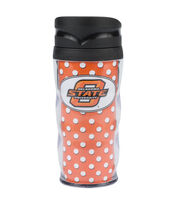 Oklahoma State NCAA Polka Dot Travel Mug, , hi-res