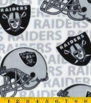 Oakland Raiders White Flc, , hi-res