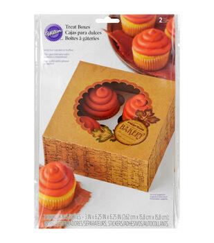 Wilton® Cupcake Boxes-Harvest