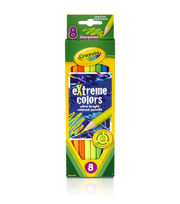 Crayola Extreme Colored Pencils-8/Pkg Long, , hi-res