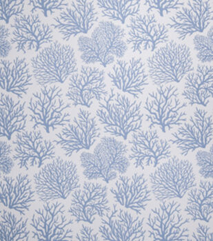Eaton Square Upholstery Fabric-Coral Reef / Ocean