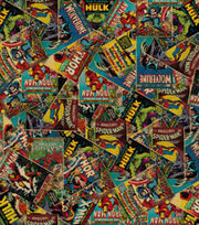 Marvel Retro Comic Cotton Fabric, , hi-res