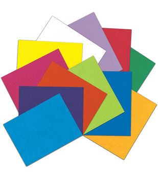 "Kunin Classic Rainbow Eco-Fi Felt Assortment 9""X12"" 12pc-Kaleidoscope"