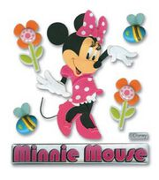 Mickey Mouse Clubhouse 3D Stickers-Minnie Mouse, , hi-res
