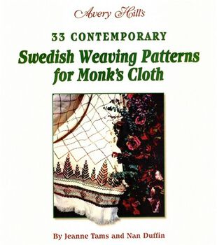 Swedish Weaving Patterns for Monks Cloth