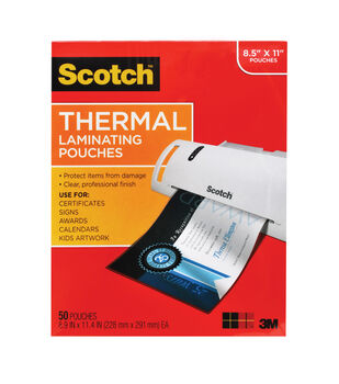 Scotch® Thermal Pouches Letter Size 50pk