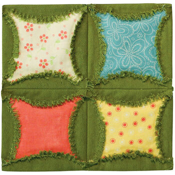 "GO! Fabric Cutting Dies-Rag Circle By Heather Banks 6.5"""