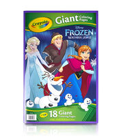"Crayola Giant Disney Coloring Book 12.75""X19-7/16"" 18pg-Frozen, , hi-res"
