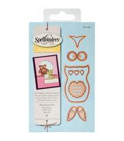 Spellbinders® Shapeabilities Die D-Lites-Woodland Owl, , hi-res