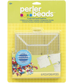 Perler Pegboards Large Clear