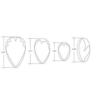 Wilton® Gum Paste Cut Outs-Peony