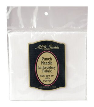 MCG Textiles Punch Needle Embroidery Cloth