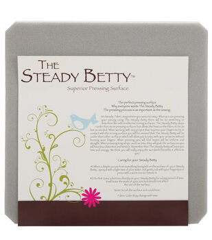 "Steady Betty 12""X12""-Gray"