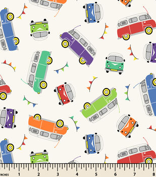 Snuggle Flannel Fabric-Campers Cream