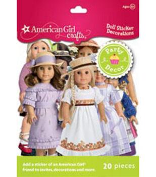 American Girl Doll Sticker Decorations