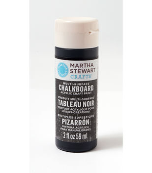 Martha Stewart Crafts ® 2oz Multi-Surface Chalkboard Acrylic Craft Paint