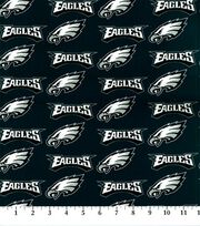 Philadelphia Eagels NFL Cotton Fabric by Fabric Traditions, , hi-res