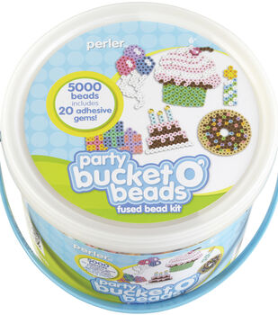 Perler Fun Fusion Fuse Bead Activity Bucket Party