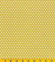 Made in America Cotton Fabric-Polka Dots Green, , hi-res