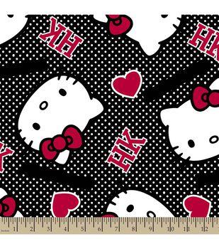 Sanrio Hello Kitty Print Fabric-Ideas