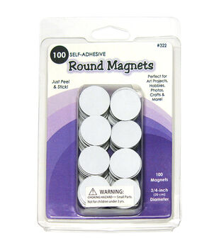 Quilled Creations- Round Magnets 100/Pkg