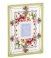 Anna Griffin Card Kit Thank You Painted, , hi-res
