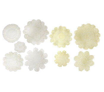 Darice 72pc Doily Assortment
